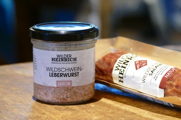 Willd Leberwurst Salami