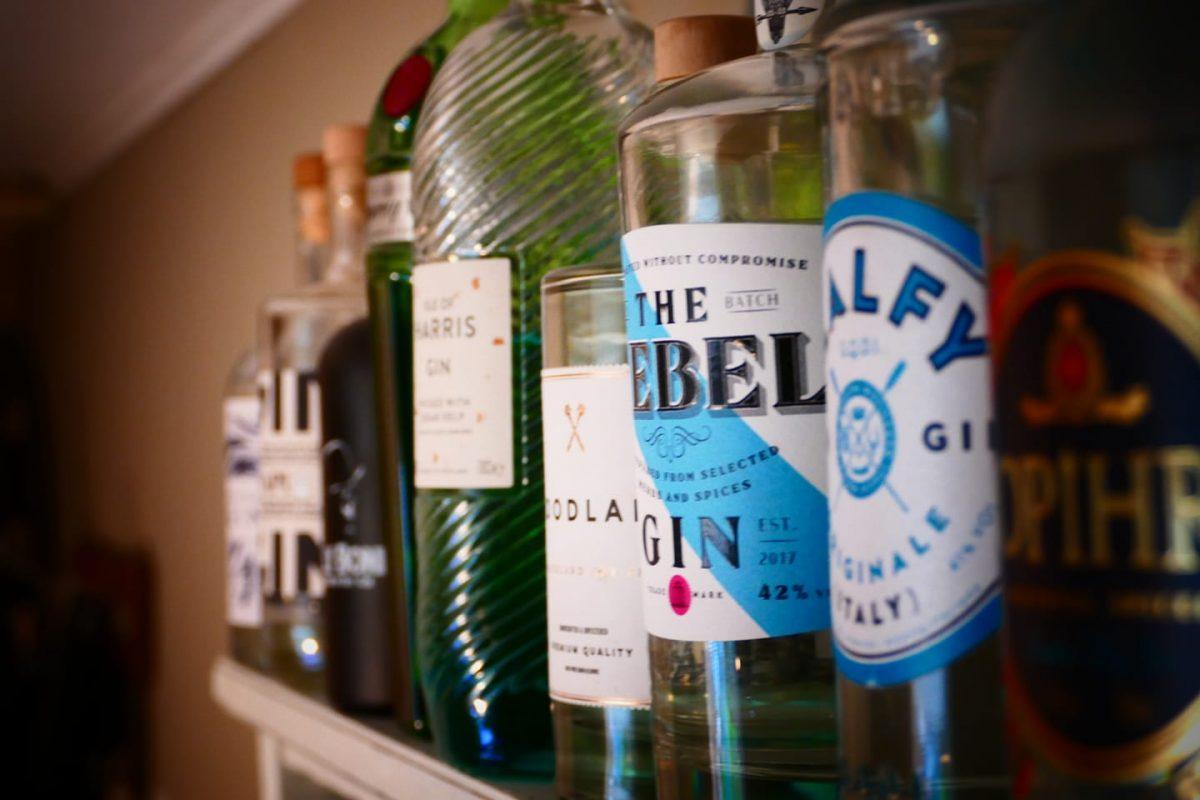 Gin Bar Malfy Gin Luca und Lia