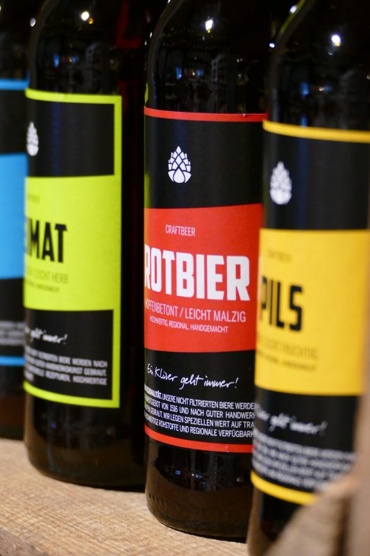 Klüvers Brauerrei Craft beer